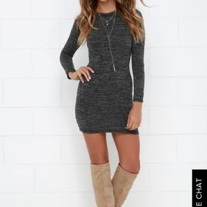 Grey Lulu's dress